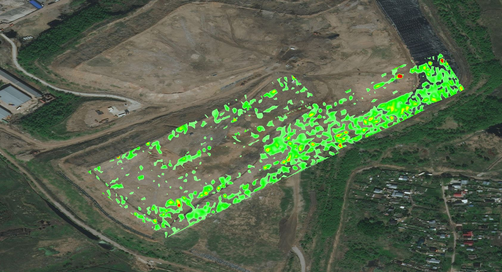 Methane Plume Mapping